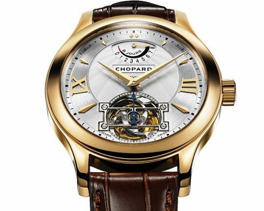 Chopard LUC Tourbillon Dragon edition watch