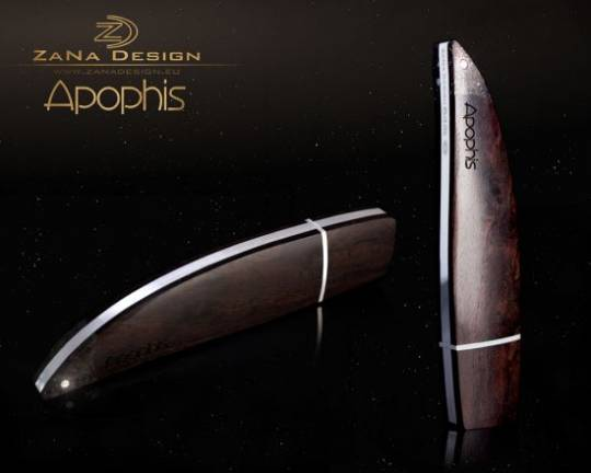 "ZaNa Design luxurious USB Flash Drive ""Apophis"" is crafted from silver"