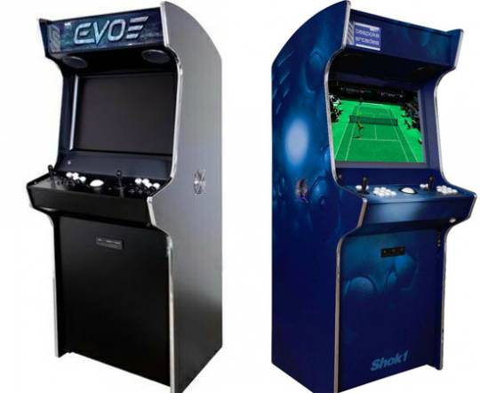 Bespoke Arcades and Shok-1