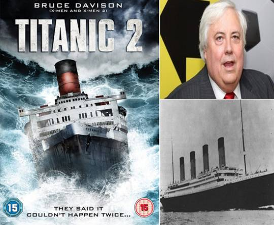 Australian billionaire Clive Palmer to build Titanic II