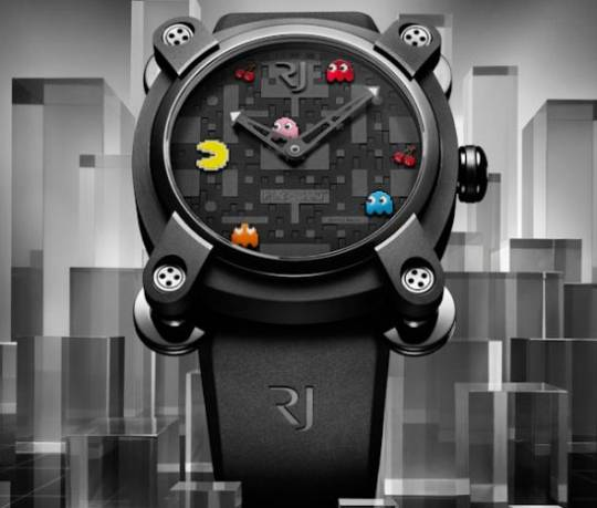 Romain Jerome's limited edition PAC-MAN Watches for gamers