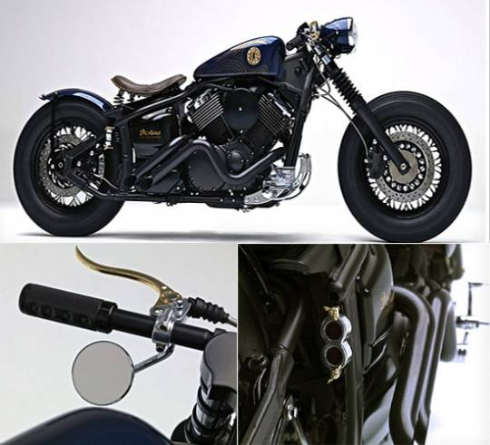 Destino Samurai Japanese style bike