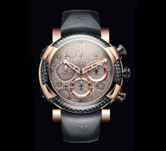 Romain Jerome's Moon Dust Red Mood Chrono