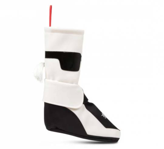 Designer Karl Lagerfeld's $307 graphic stocking