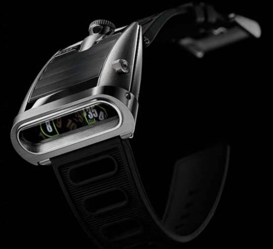 MB&F Horological Machine No.5 is a futuristic wristwatch inspired by supercars