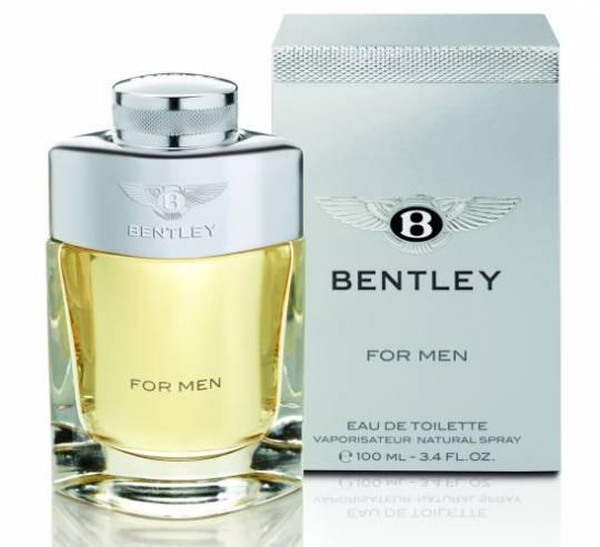 Bentley launches its first luxury fragrance range for men that captures the 'essence' of their powerful supercars