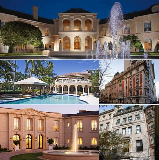 Real Estate Mansions for billionaires