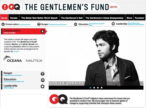 "The rap artist has tirelessly worked on behalf of the NGO ""The Gentleman's Fund"""