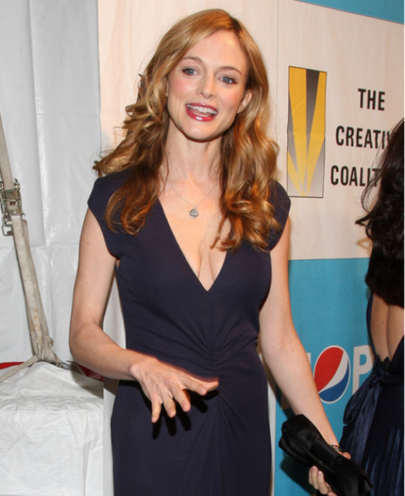 heather Graham at the arrivals of The Creative Coalition's 2009 Inaugural Ball
