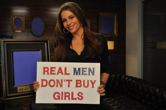 Sofia Vergara (not in this image) supported the foundation by participating in a 2011 YouTube campaign called