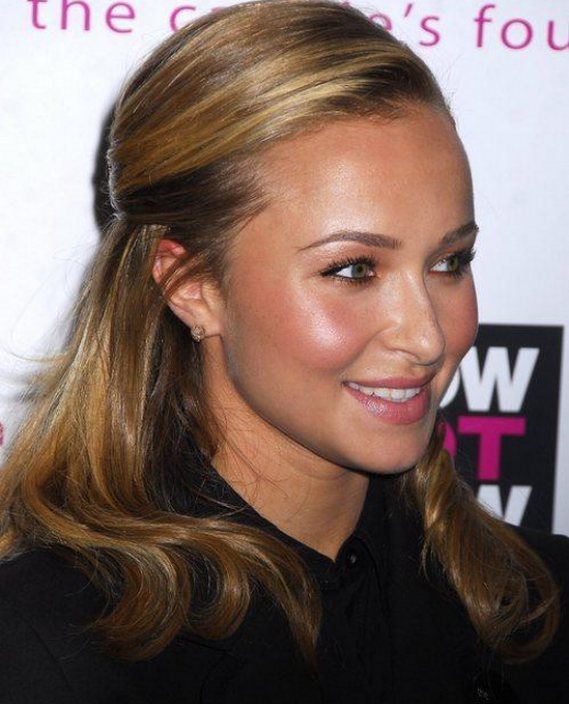 Hayden Panettiere attends The Candie's Foundation Town Hall Meeting On Teen Pregnancy Prevention.