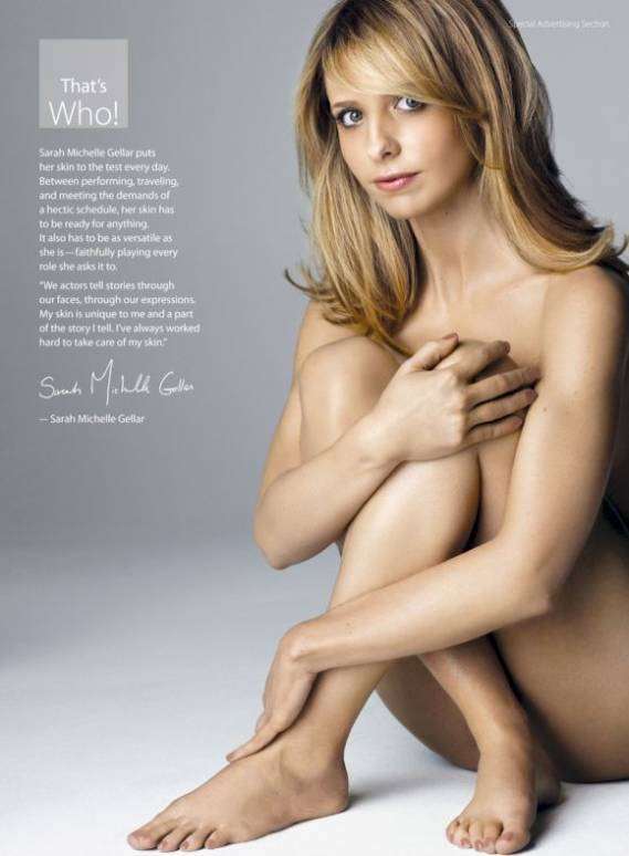 Sarah Michelle Gellar supports Coalition of Skin Diseases