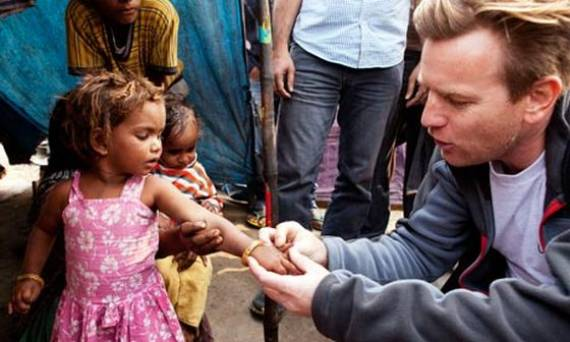 Ewan McGregor supports Luke Neuhedel Foundation