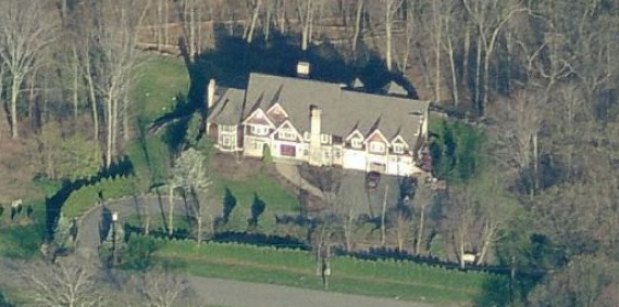 photo: house/residence of cool friendly fun  5 million earning Saddle River, New Jersey, USA-resident