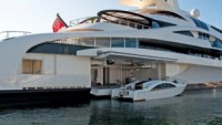 Customized superyacht