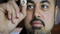 50-carat diamond sells for just $2.7m at an auction in Canada