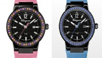 "Salvatore Ferragamo ""Colour on Time"" watches can be customized on your iPad"