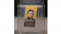 Rare Honus Wagner baseball card is the most expensive sports collectible at $1.2M