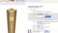 London 2012 Olympics torchbearer sells her torch for a whopping $192,000