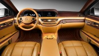 TopCar pimps heavily-armored Mercedes-Benz S600 (W221) Guard with gold and leather
