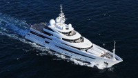 The £6 million RV Pegaso superyacht has a fully-fledged floating laboratory for the explorers on the move