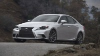 2014 Lexus IS 350 F Sport with an iconic spindle grille debuts at Detroit Auto Show