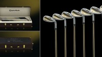 TaylorMade's Limited Edition Box Set of Clubs in gold