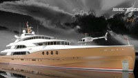 Brazen Sea megayacht luxuriously sails into future