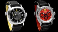 New red and yellow dial watches for the Ferrari Scuderia collection