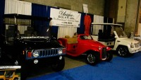Unique Golf Cars launches pimped-out golf carts at New York Auto Show
