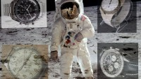 Five iconic watches made on Earth, worn to space