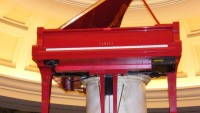 Elton John Red Grand Piano to go on sale