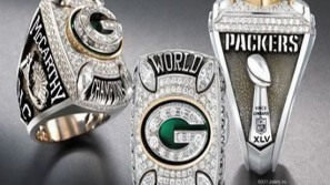 Green Bay Packers dazzling championship rings adds more glamor to the Super Bowl