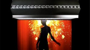 Charismatic FogScreen projector goes for $40K