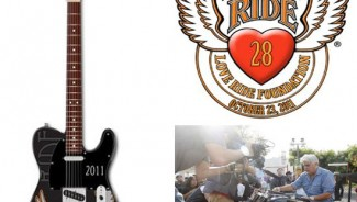 Fender creates limited edition Guitar for Love Ride 28 event