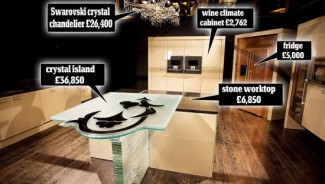 Claudio Celiberti designs the world's most expensive kitchen worth a million pound