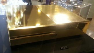 24-karat gold Xbox One at London's Harrods