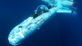The Super Rich Love the Underwater Aeroplane Showcased at Manaco Yacht Show