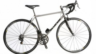 DeLorean Bicycle; the most expensive stainless steel bike comes for $5,500
