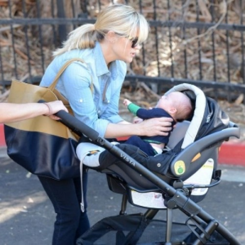 Reese Witherspoon with her son