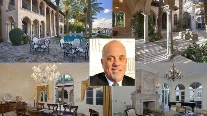 Singer Billy Joel Sells his Waterfront Miami Home for a Whopping $13.75 Million