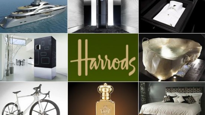 Top 15 luxury items at Harrods