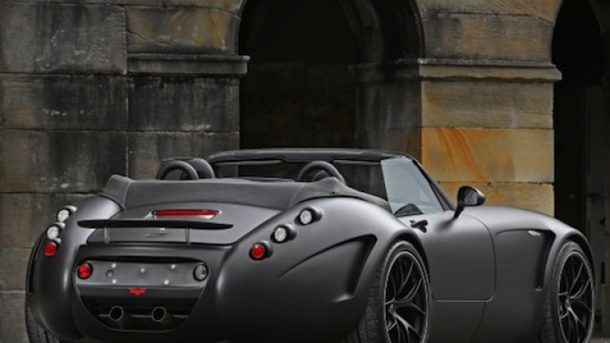 German tuner Wiesmann introduces its MF5 BMW V8 model in stealth finish for $250,000