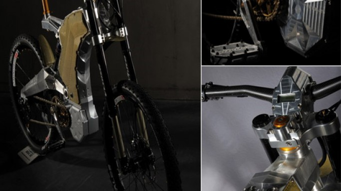 M55 e-bike studio unveils its custom made Terminus Royal edition bike