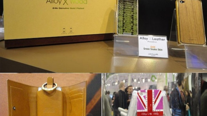 Luxury iPhone cases and covers at CES 2012