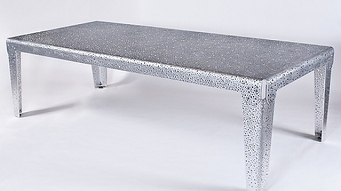 Jordan's metal table