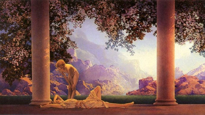 Maxfield Parrish's famous 1922