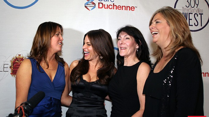 Sofia Vergara supports the efforts of Cure Duchenne