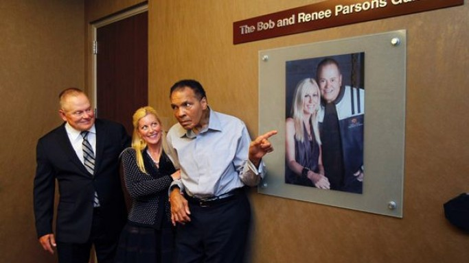 Muhammad Ali Parkinson Center has received support from a total of 32 celebrities.