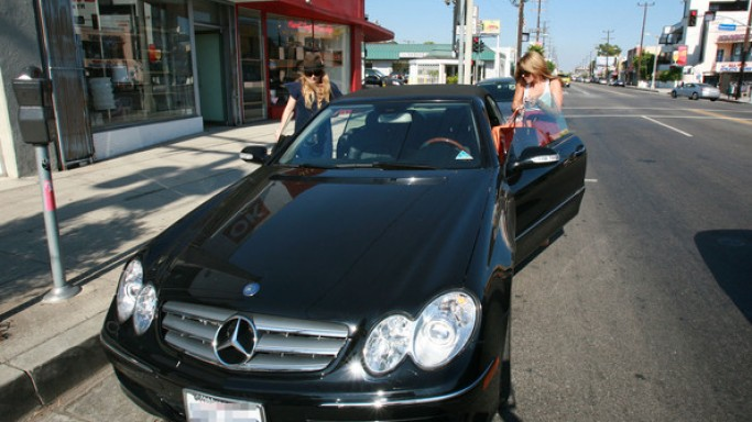 Mercedes-Benz CLK 350 convertible